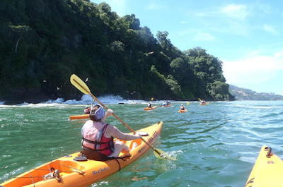 Kayaking in Jaco