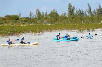 Kayaking in Nassau