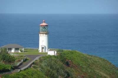 Kilauea Lighthouse in Kauai