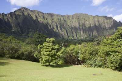 Ko'olau Range in Oahu