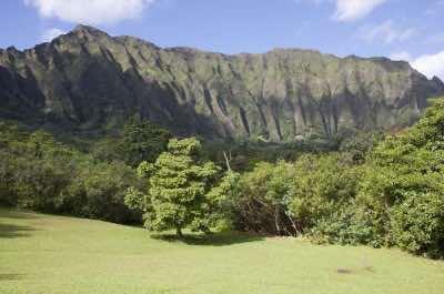 Ko'olau Range in Oahu