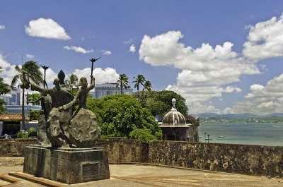 La Rogativa monument  San Juan