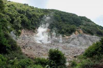 La Soufriere Volcano St. Lucia