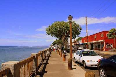 Lahaina Front Street in Maui