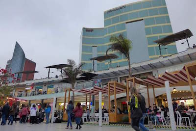 Larcomar Shopping Center in Lima