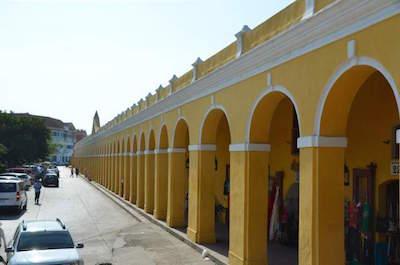Las Bovedas in Cartagena