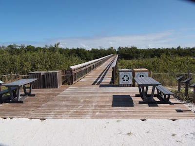 Lovers Key State Park in fort Myers