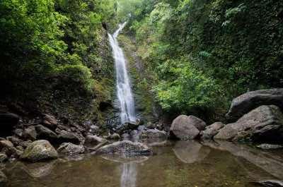 Lulumahu Falls in Oahu