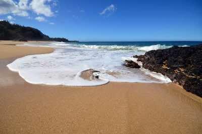 Makua Beach (Tunnels Beach) in Kauai