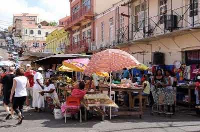 Market Square in Grenada