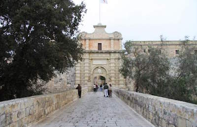 Mdina Main Gate - Baroque Gateway in Malta