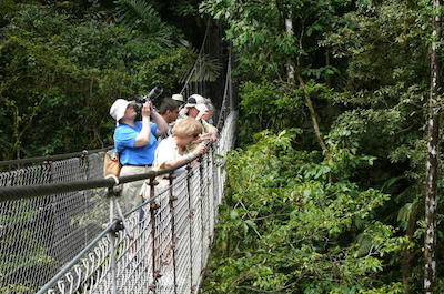 Mistico Arenal Hanging Bridges Park in Costa Rica