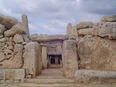 Mnajdra Temples in Malta