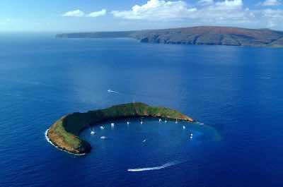 Molokini Crater in Maui