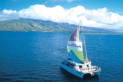 Molokini Sail and Snorkel Adventure Glass Bottom Catamaran in Maui