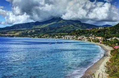 Montagne Pelee in Martinique