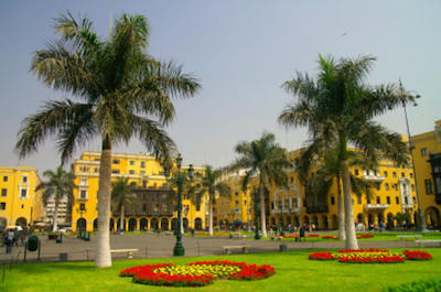 Municipal Palace in Lima