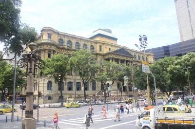 National Fine Arts Museum in Rio de Janeiro