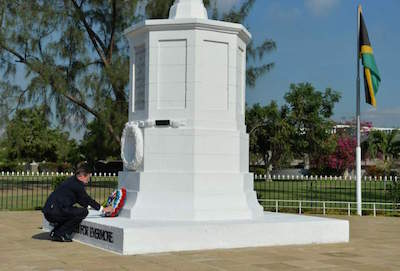 National Heroes Park in Kingston