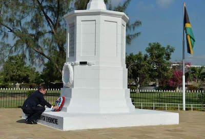 National Heroes Park in Kingston