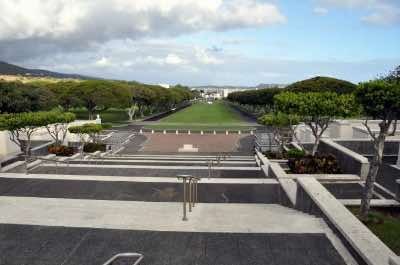 National Memorial Cemetery of the Pacific in Honolulu