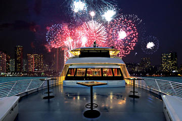 Oahu New Year's Eve Fireworks Cruise in Oahu