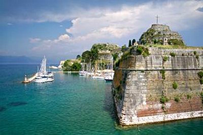 Old Fortress (Palaio Frourio) in Corfu