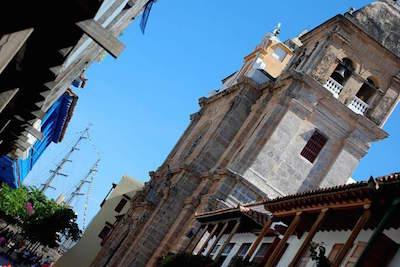 Old Town Cartagena in Cartagena