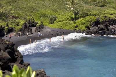 Pa'iloa-Black Sand Beach