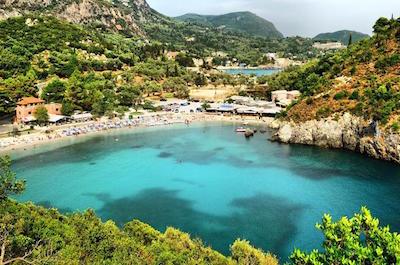 Paleokastritsa in Corfu