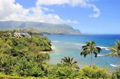 Pali Ke Kua Beach (Hideaway's Beach) in Kauai