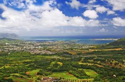 Pali Lookout in Oahu