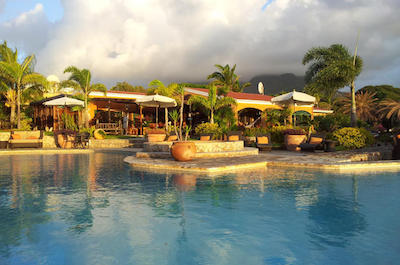 Palms Court Gardens and Restaurant Day Pass in St. Kitts
