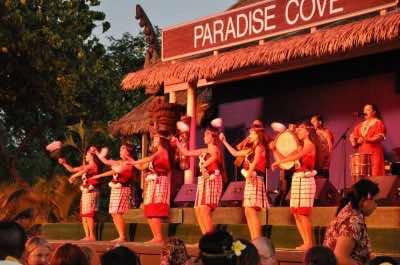 Paradise Cove in Oahu