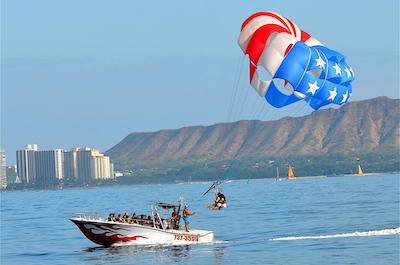 Parasailing & Paragliding In Oahu