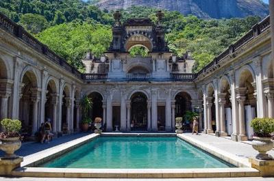 Parque Lage in Rio de Janeiro