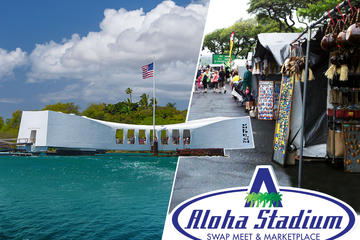 Pearl Harbor And Flea Market Combo Tour -in-Oahu
