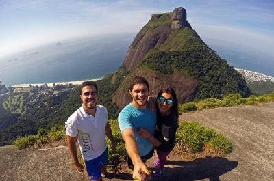 Pedra Bonita in Rio de Janeiro