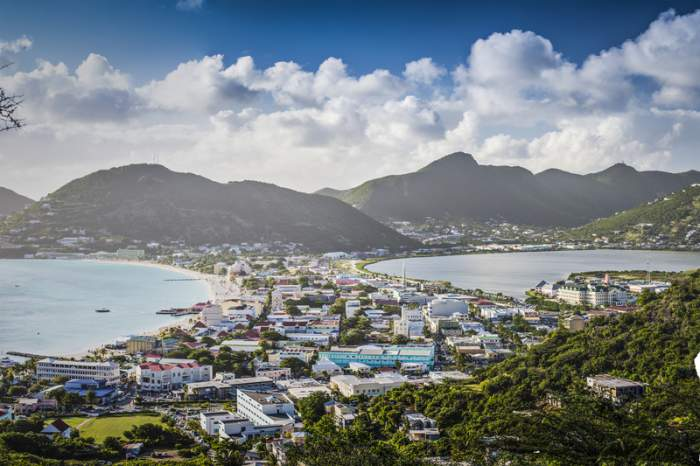 Philipsburg, capital of St. Maarten