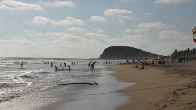 Playa Brujas in Mazatlan