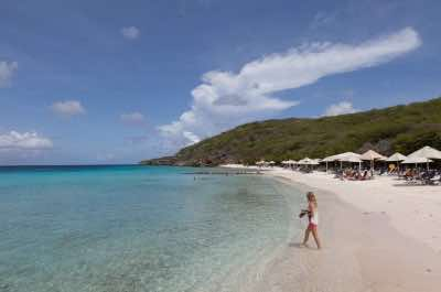 Playa Cas Abou beach in Curacao