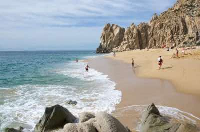 Playa del Amor-Lover's Beach in Los Cabos