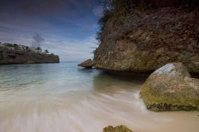 Playa Lagun beach in Curacao