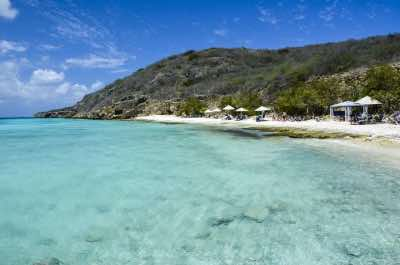 Playa Porto Marie beach in Curacao