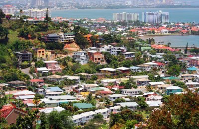 Port of Spain in Trinidad and Tobago