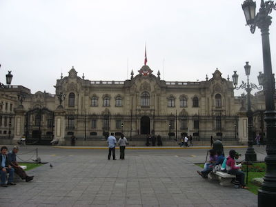 Presidential Palace in Lima