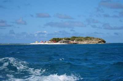 Prickly Pear Island in Antigua