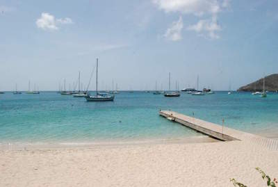 Princess Margaret Beach in St. Vincent and The Grenadines
