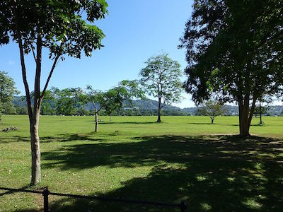 Queen's Park Savannah in Trinidad and Tobago