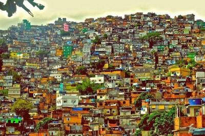 Rocinha in Rio de Janeiro